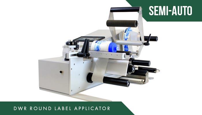 Automatic Label Applicator ~ Dwr round semi automatic label applicator the etiquette