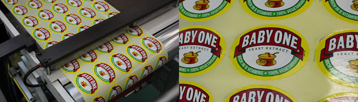 New printed labels for Marmite