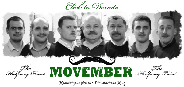 Etiquette's men get together to take part in Movember 2012