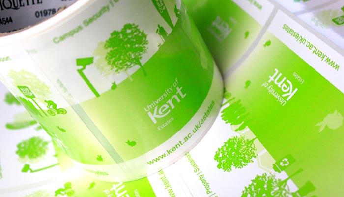 Digital Labels for the University of Kent Estates   The Etiquette ...: www.etiquette.co.uk/blog/digital-labels-for-the-university-of-kent...