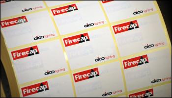 Aico Firecap label printing