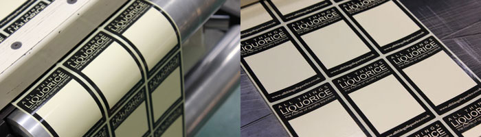 All Things Liquorice printed labels