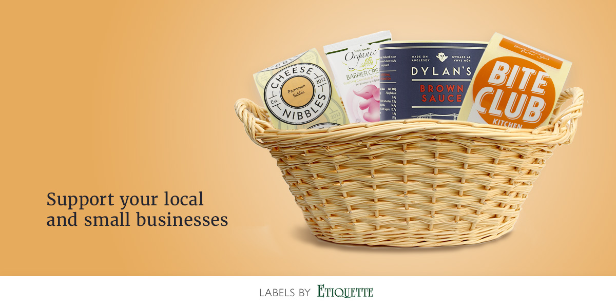 Etiquette Labels produces printed, self-adhesive labels for small businesses, restaurants, cheese producers etc.