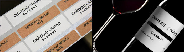 Chateau Civrac wine labels