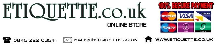 Visit our Etiquette online store!