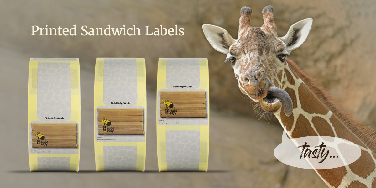 Printed Sandwich Labels by Etiquette | self-adhesive sandwich labels