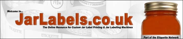 JarLabels.co.uk is the online resource for jar labelling and jar label printing
