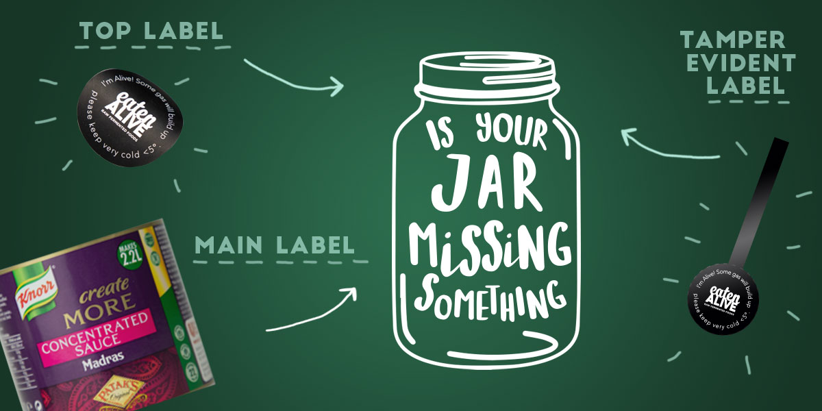 Jar labels - what types of jar labels can you put on your product? Top labels, special shape labels, tamper-evident labels?