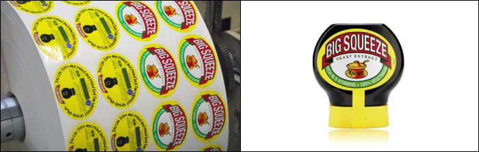 Marmite Printed labels from leading label suppliers Etiquette