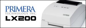 Primera LX200 colour label printer from Etiquette
