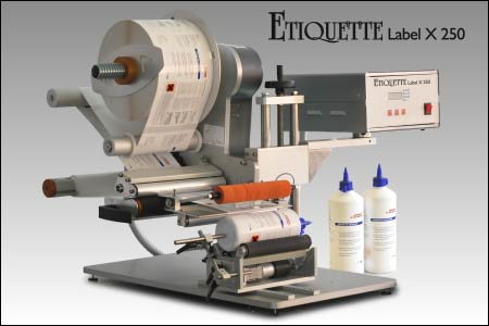 The Etiquette Label X 250 Bottle Label Applicator and Labelling Machine from Etiquette