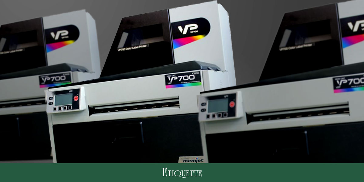 The VP700 is a state of the art machine that is capable of printing labels of the highest quality with extraordinary detail. From Etiquette Labels