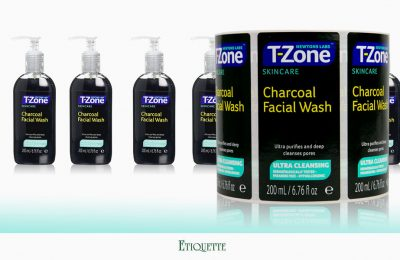Printed Labels for T-Zone Facial Wash