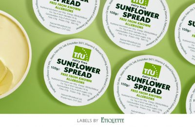 Sunflower Spread Labels with a good cause
