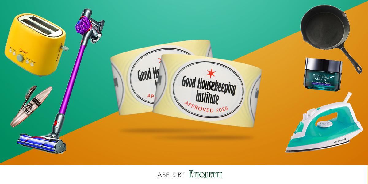 Good Housekeeping Labels