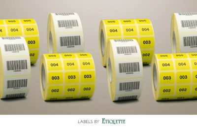 Barcode and Sequential Numbered Labels