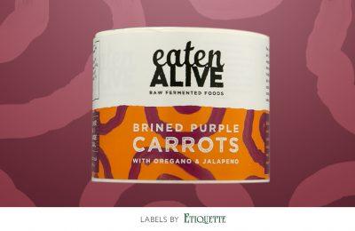 Brand new digital labels for Eaten Alive