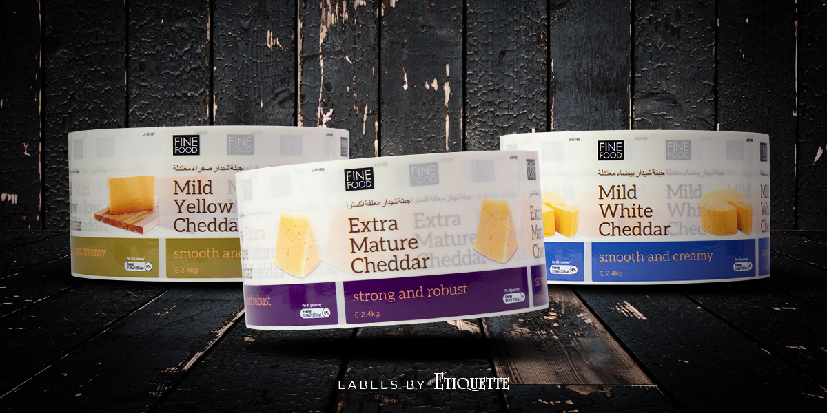Cheese Labels for Fine Foods