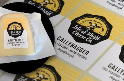 Gallybagger Printed Cheese Labels