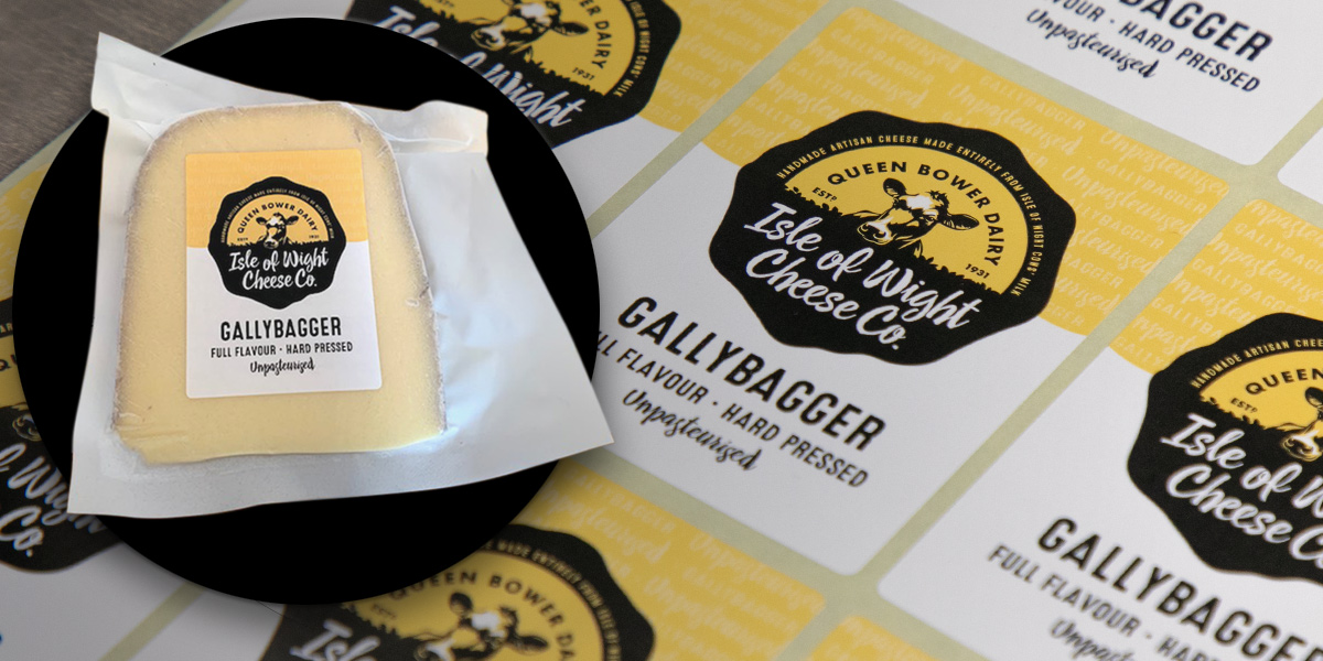 Isle of Wight Cheese Co. Labels by Etiquette