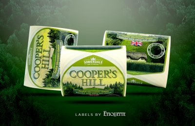 Cooper's Hill Cheese Labels – freshly off the printing press