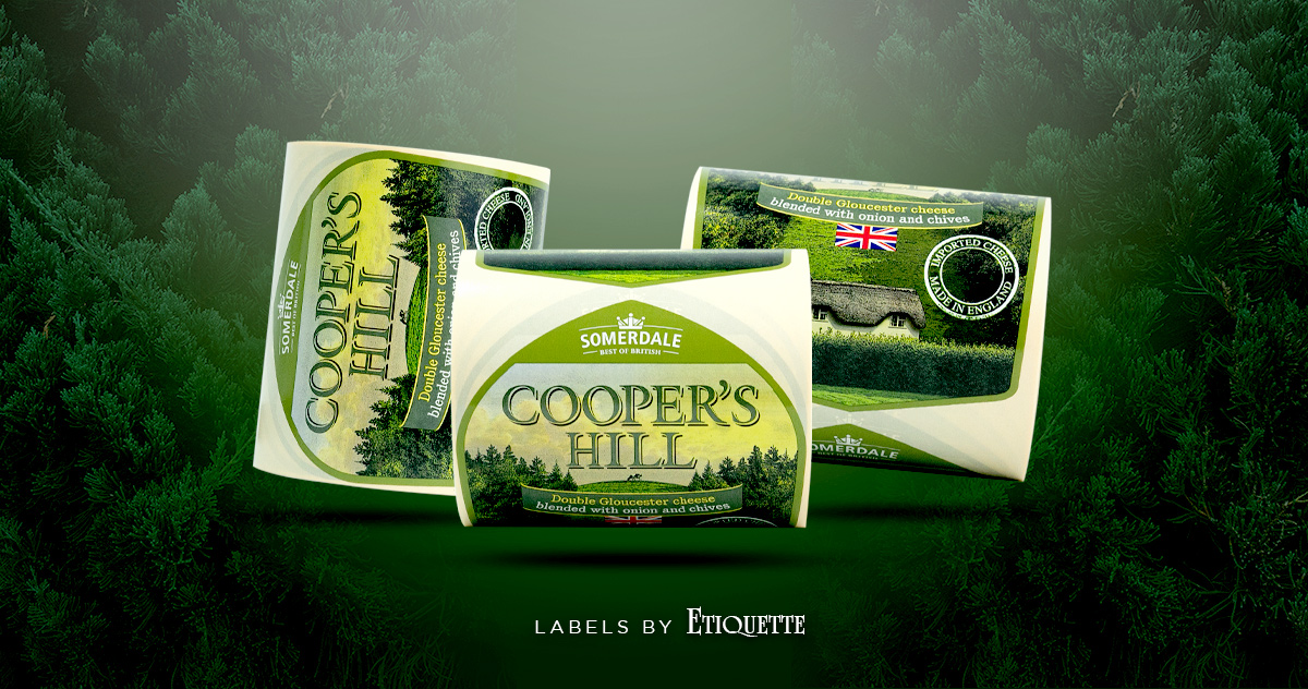 Cooper's Hill Cheese Labels