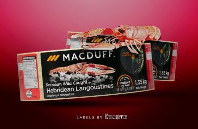 New Printed Labels for Macduff Shellfish