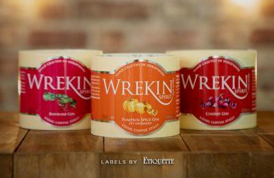 New Digital Labels for Wrekin Gin Selection