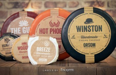 Printed Digital Labels For Orsom Cheese Packaging