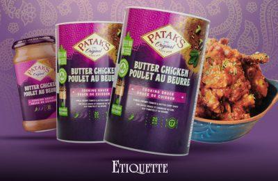 Printed Jar Labels for Patak's